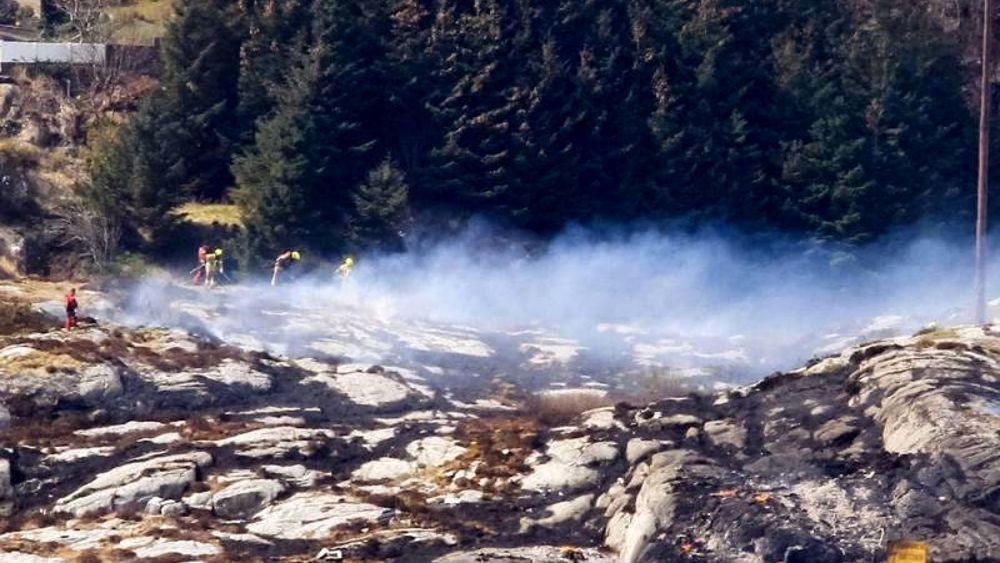 Elicottero Caduto Oggi : Elicottero caduto in norvegia quot a bordo c era anche un