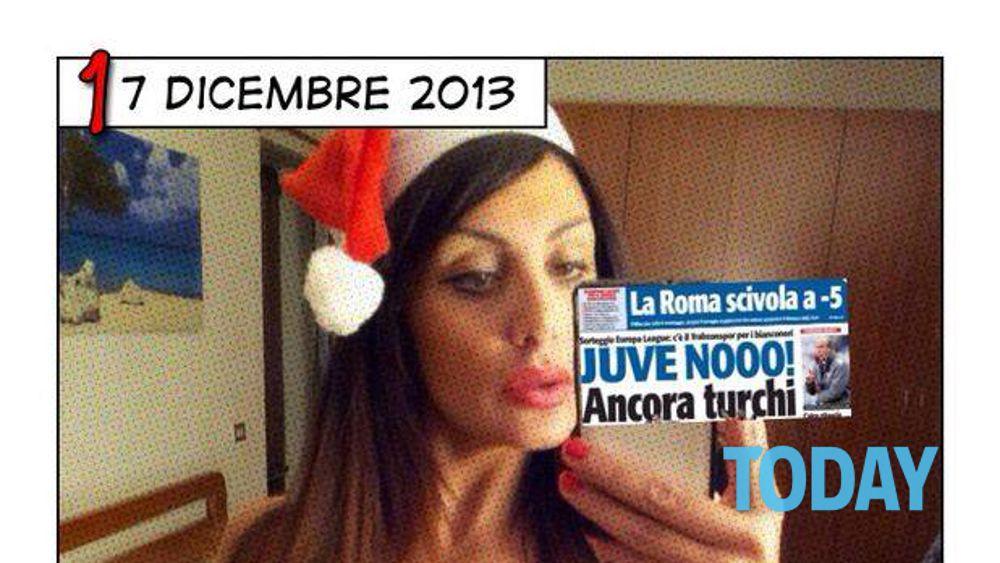 Immagini Natale Hard.Marika Fruscio Si Spoglia Per Natale Auguri Hot A Tutti I Fan