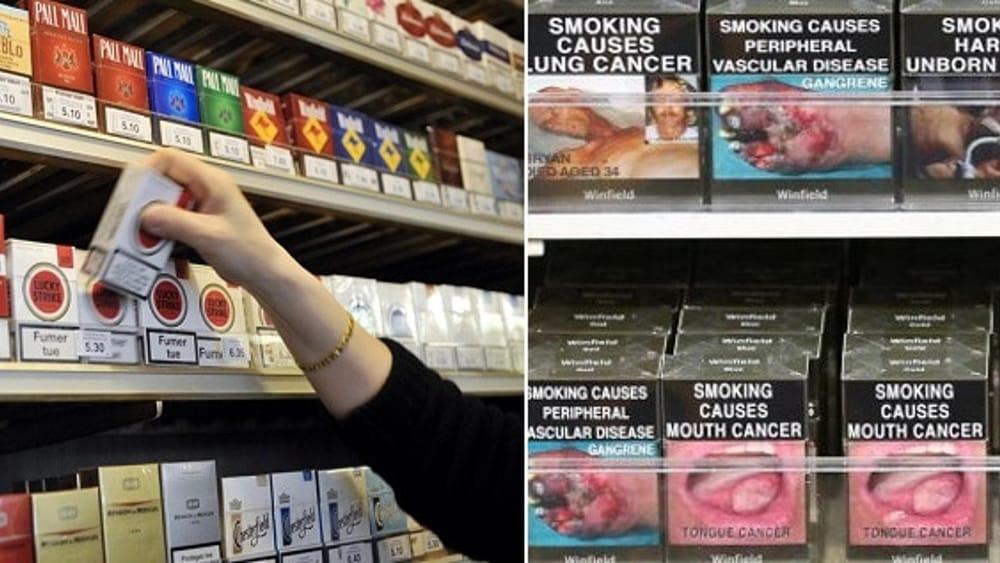 Foto shock pacchetti sigarette 78