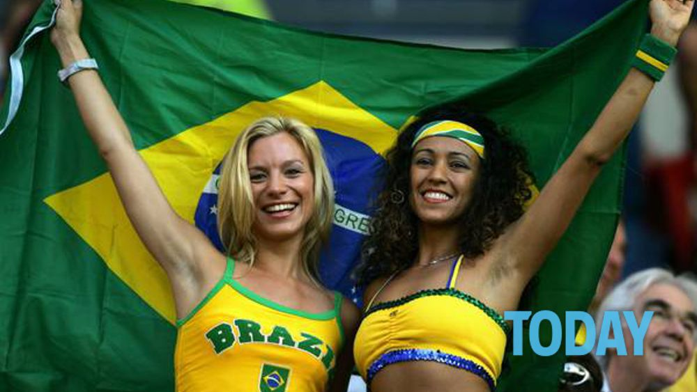 2 hot brazillian burnettes girl girl - 1 4