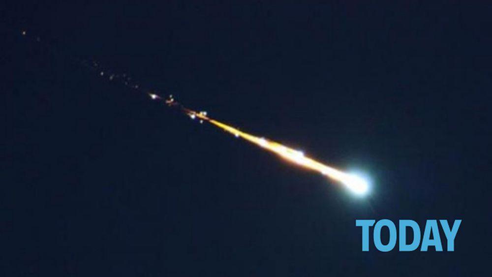 Meteorite visto tra bassa bergamasca milano e brianza for Meteorite milano
