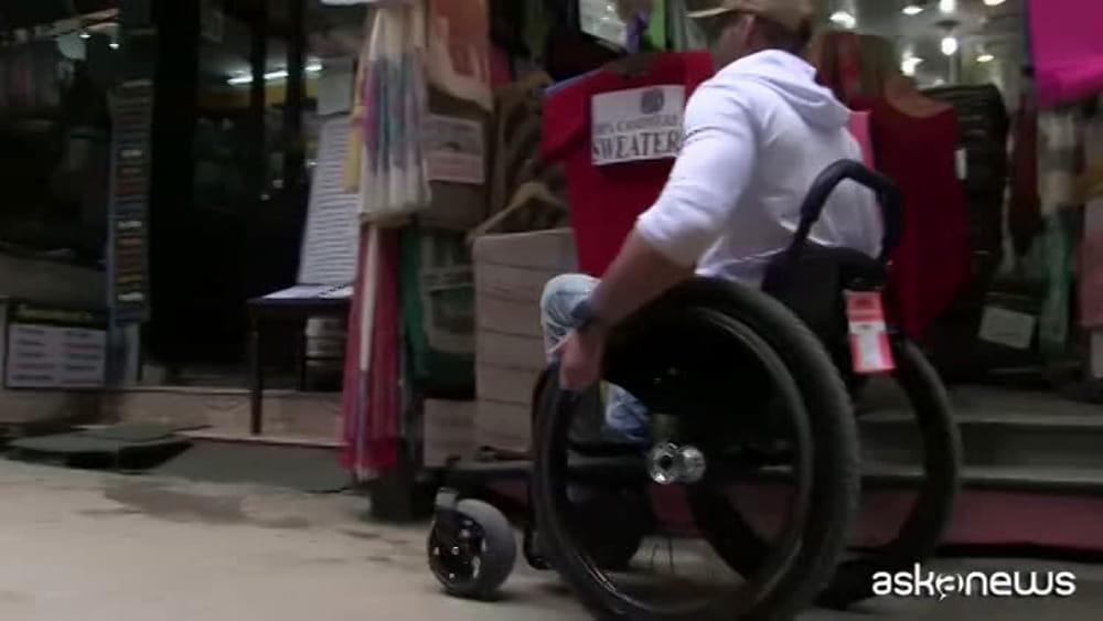 Sedie A Rotelle Torino : Il sogno di scott scalare leverest in sedia a rotelle