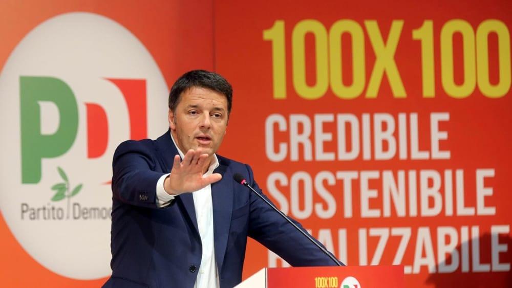 Elezioni programma pd le 100 proposte di renzi for Programma tv ristrutturazione casa
