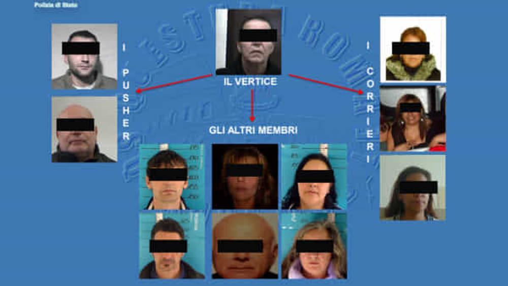 traffico internazionale di droga 12 arresti a roma 26