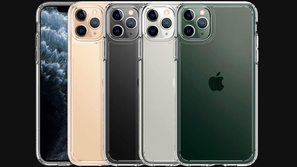 Cover a libro per Apple iPhone 11 Pro - Similpelle d'oro Custodia