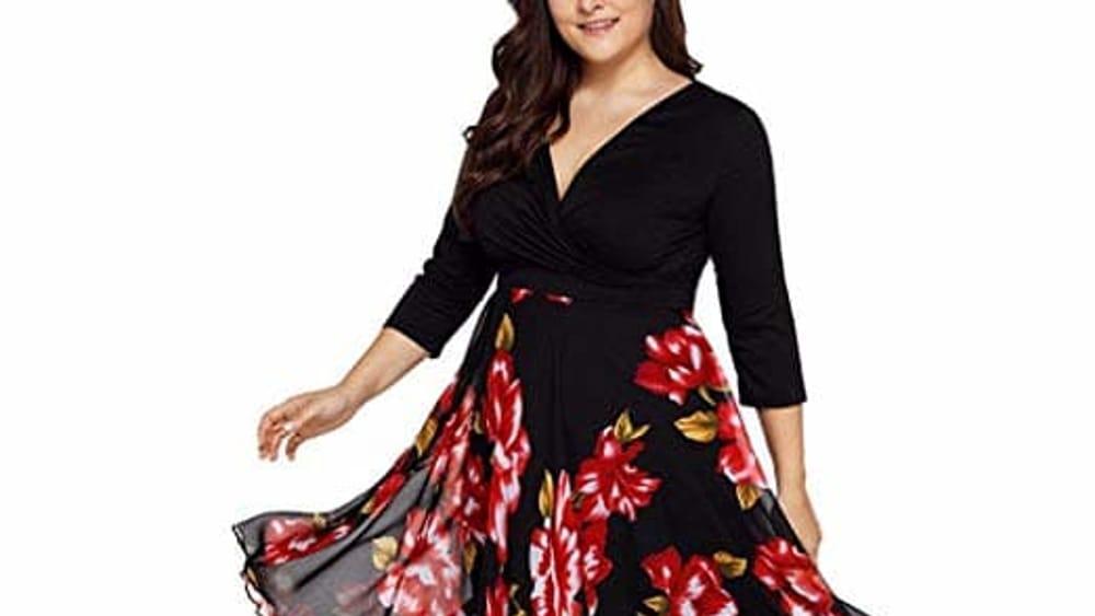 4aafa36cbb8eca Vestiti curvy | abiti per donne formose | Amazon
