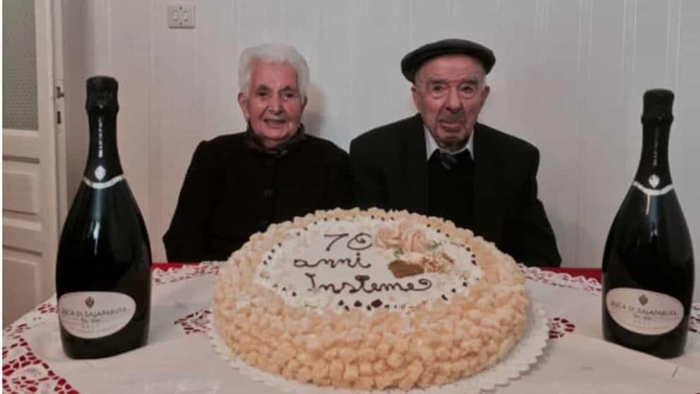 Matrimonio In Extremis : Nozze da record a gangi palermo anni di matrimonio