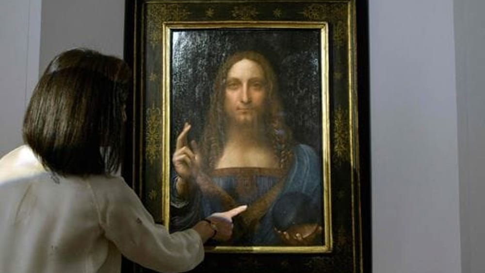 Dipinto salvator mundi di leonardo venduto a 450 milioni - Chi ha dipinto il bagno turco ...