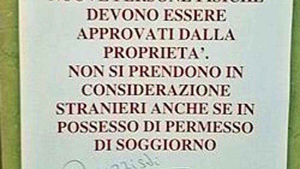 Non si affitta a stranieri anche regolari e gli for Ritiro permesso di soggiorno bologna