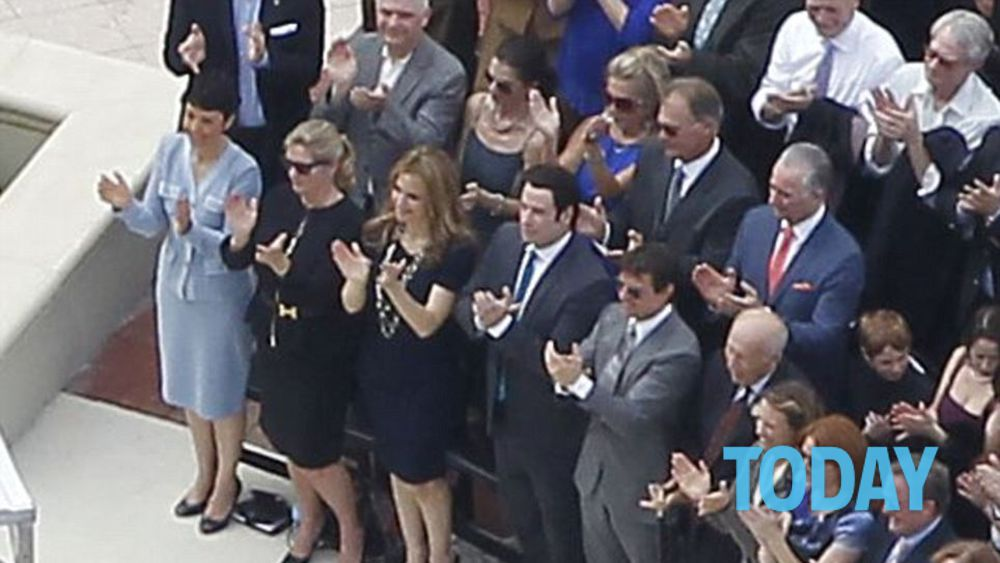 Scientology tom cruise e john travolta inaugurazione