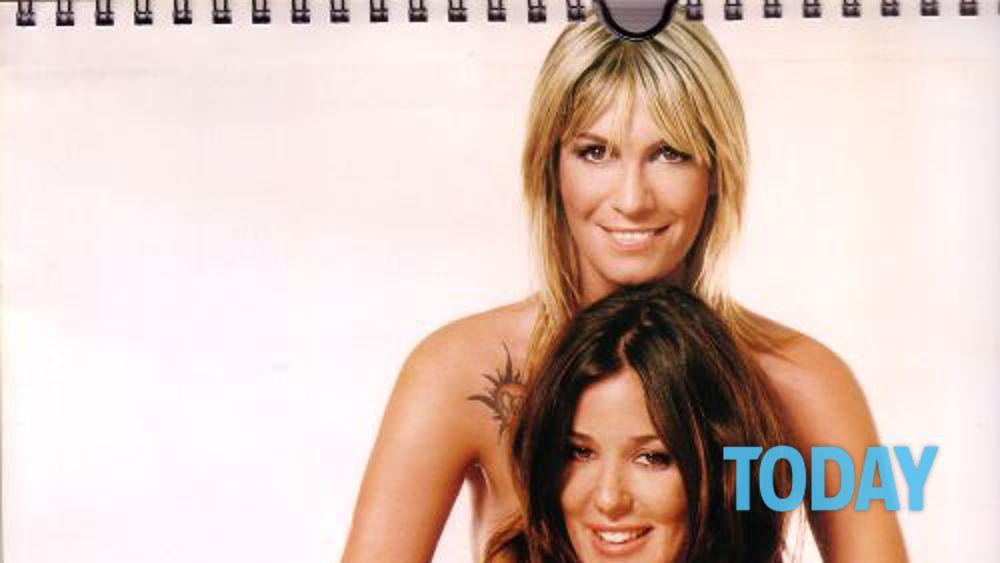 Calendario Mascia Ferri.Alessia Fabiani E Mascia Ferri Nel Calendario 2005
