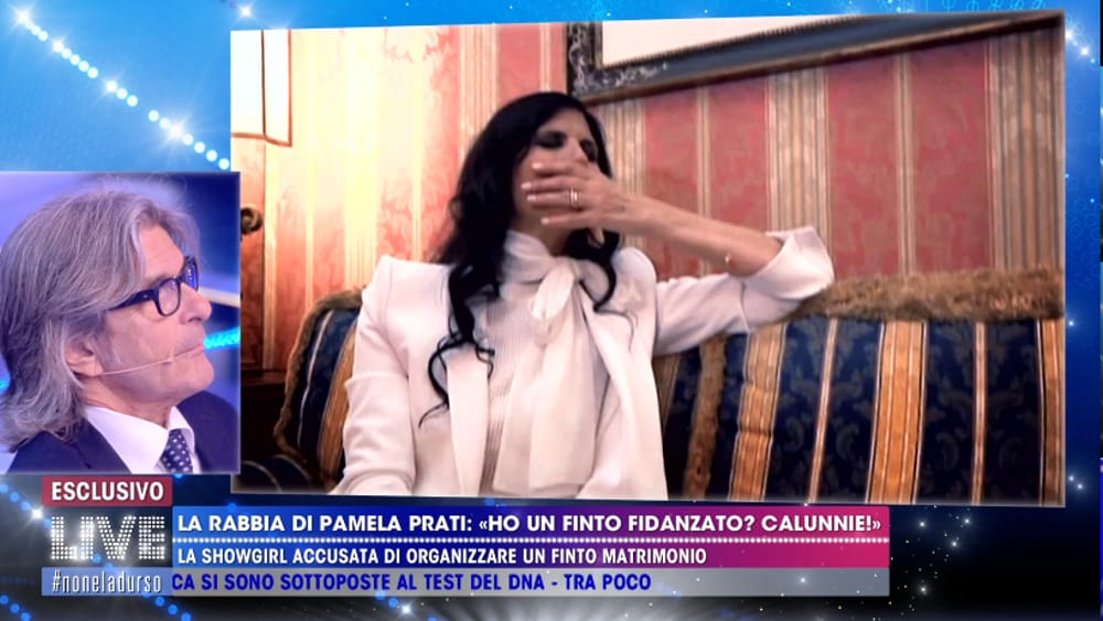 2fb2460c92e4 Il fidanzato di Pamela Prati non esiste  La verità della showgirl a  Live- Non è la d Urso