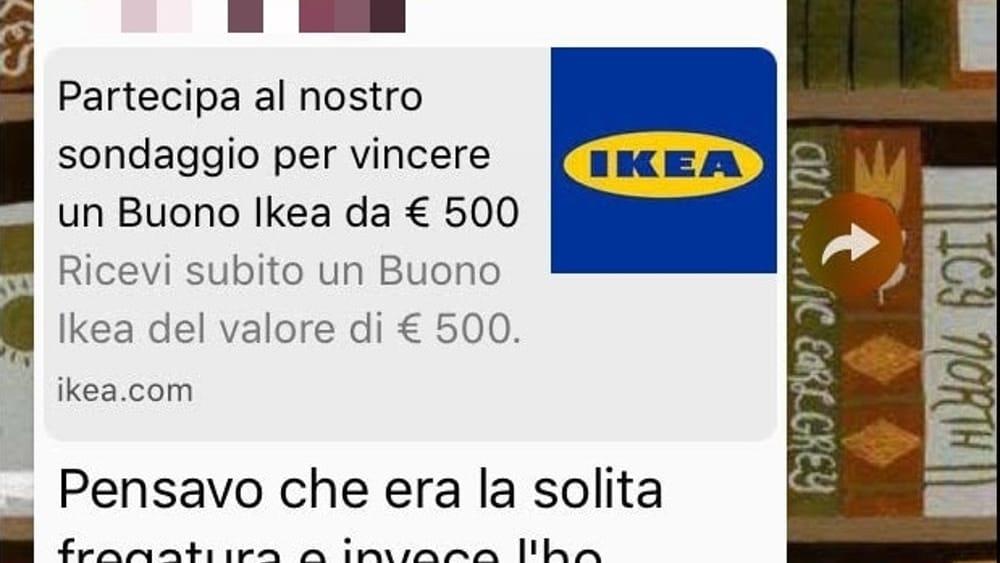 Buono Ikea 500 Euro Whatsapp Catena Di Santantonio Notizia Falsa