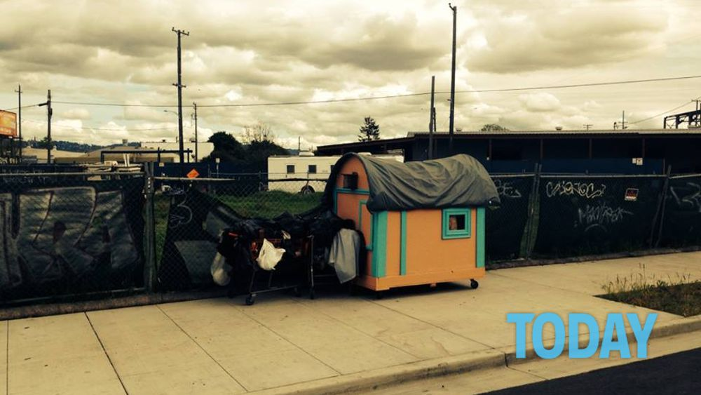 Le case 39 trasportabili 39 per chi senza tetto foto da - Case trasportabili ...