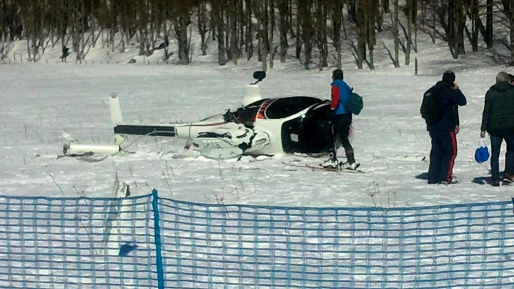 Elicottero Sessualmente : Elicottero caduto