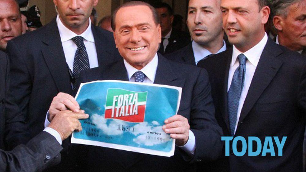 Berlusconi inaugura la nuova sede di forza italia for Onorevoli di forza italia