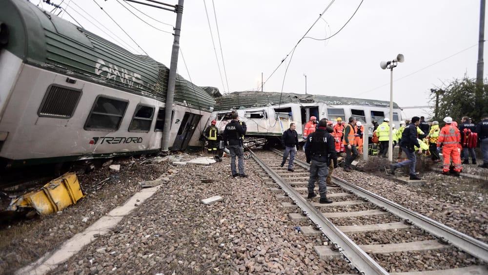 Incidente ferroviario milano treno deragliato oggi for Quotazione ferro oggi