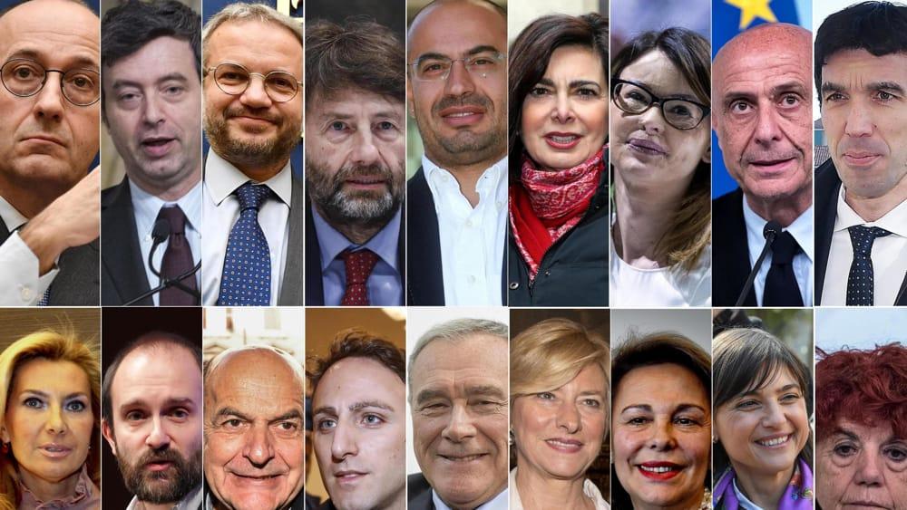 Vip new entry ripescati e poche donne ecco il nuovo for Parlamentari italiani numero
