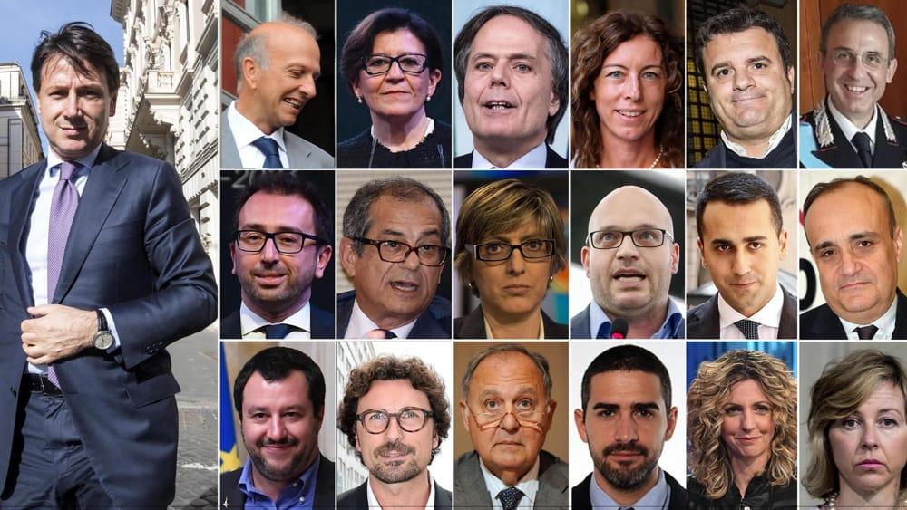 Governo ultime notizie i ministri del governo conte for Composizione del parlamento italiano oggi