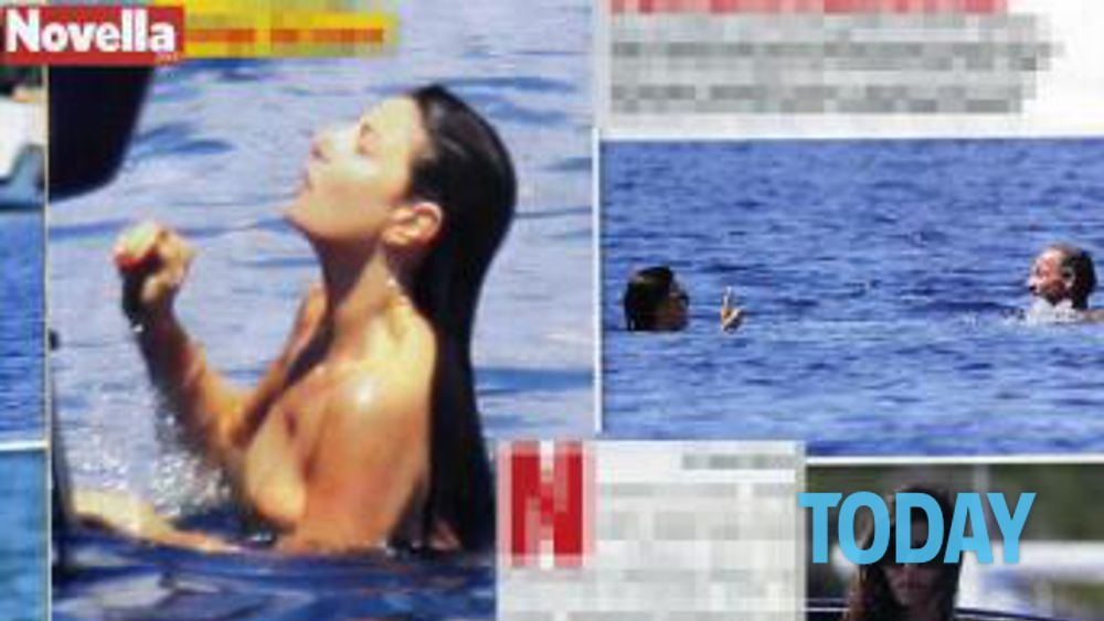 Ilaria Damico Calendario.Il Topless Di Ilaria D Amico Scalda L Estate Foto