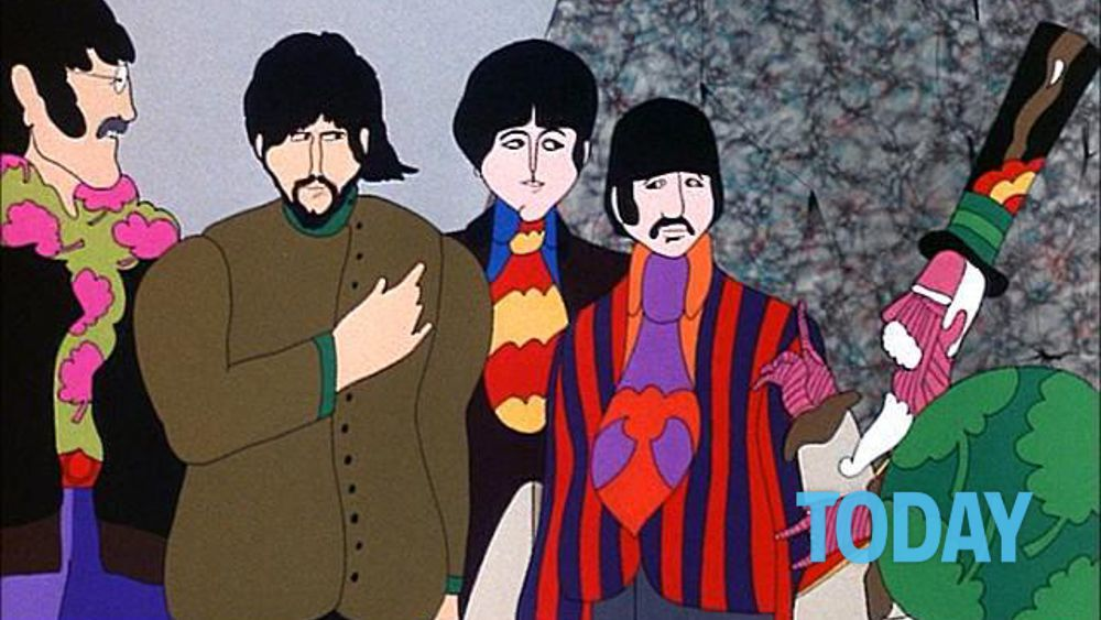 Il cartone quot yellow submarine dei beatles torna restaurato