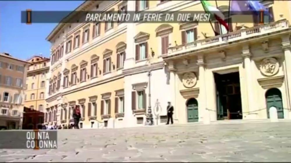 Il parlamento in ferie da due mesi per gli onorevoli un for Parlamento in diretta
