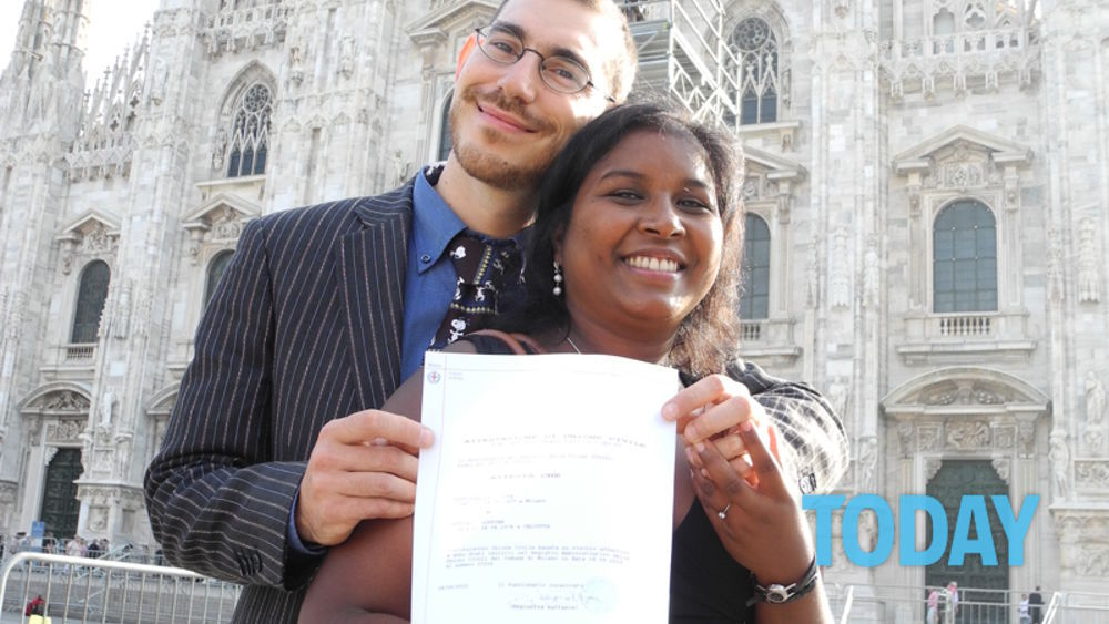 Registro Firme Matrimonio Simbolico : Registro unioni civili milano le prime firme