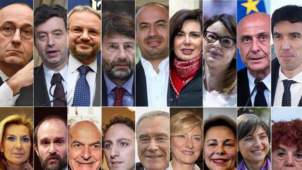 Elezioni il nuovo parlamento senza d 39 alema ma con grasso for Elenco dei deputati