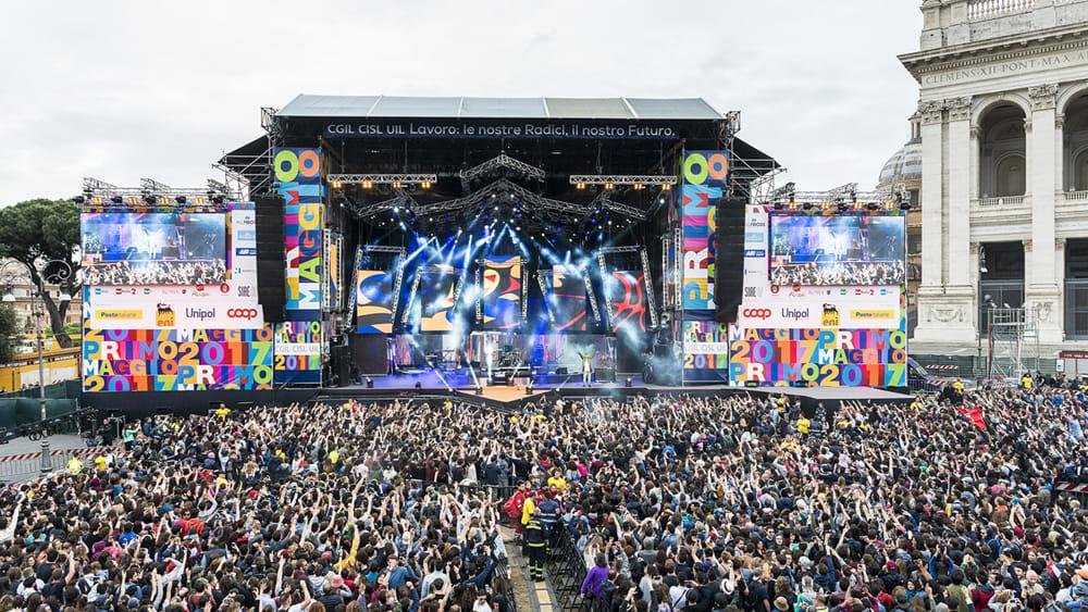 Risultati immagini per 1 maggio concerto immagini