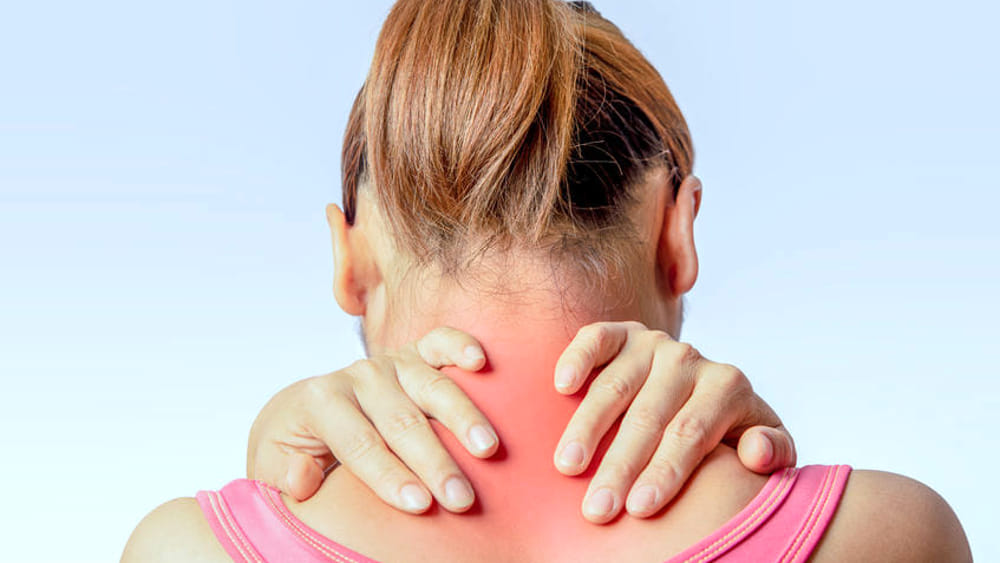 The symptoms to detect the pain in the cervix and the