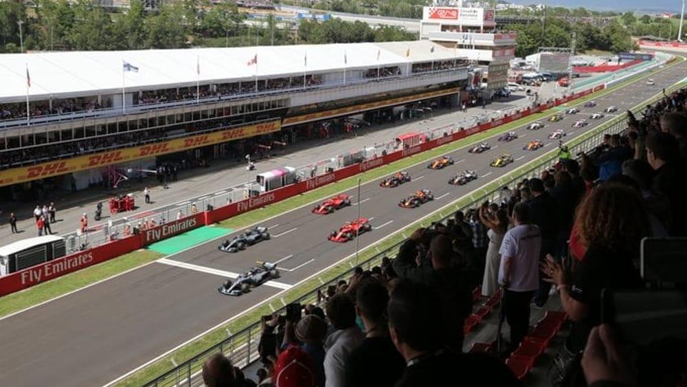 Formula 1 Gp Spagna   Orari Sky e Tv8   Diretta streaming