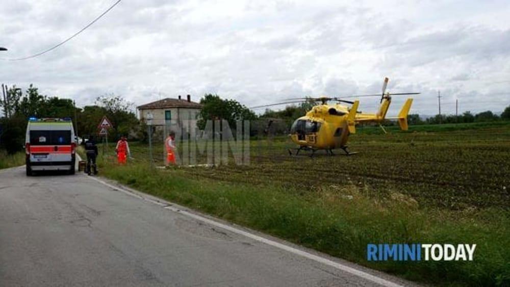 Elicottero Sessualmente : Pirata della strada elicottero maggio via popilia